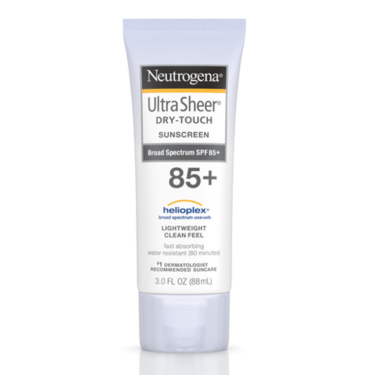 Neutrogena Ultra Sheer Dry Touch Sunscreen with SPF 85, 3 Oz