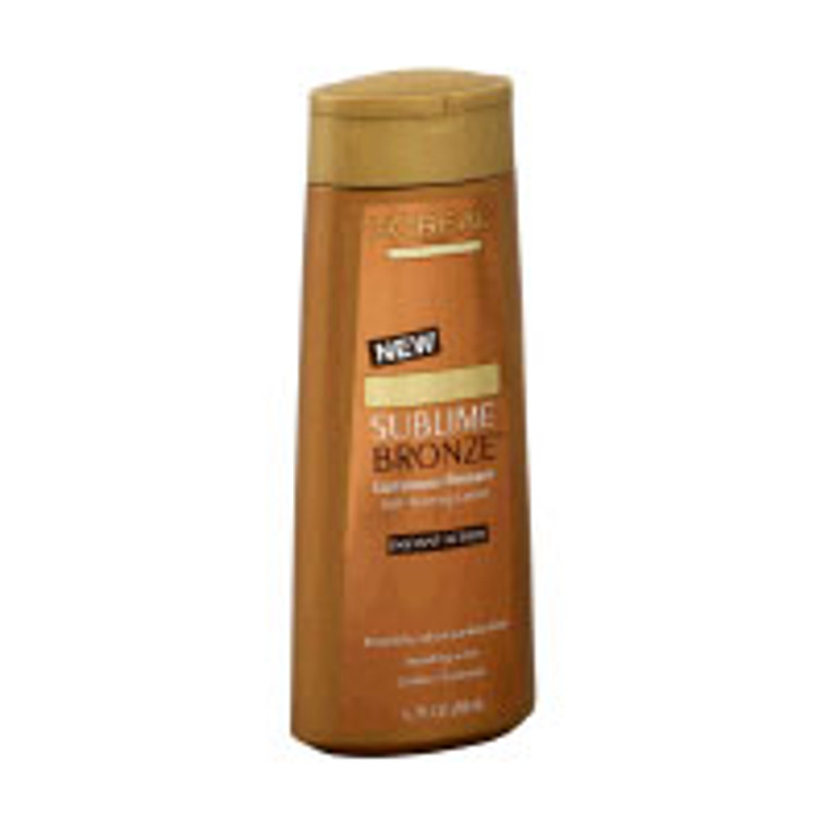 Loreal Sublime Bronze Luminous Bronzer Self-Tanning Lotion - 6.7 Oz