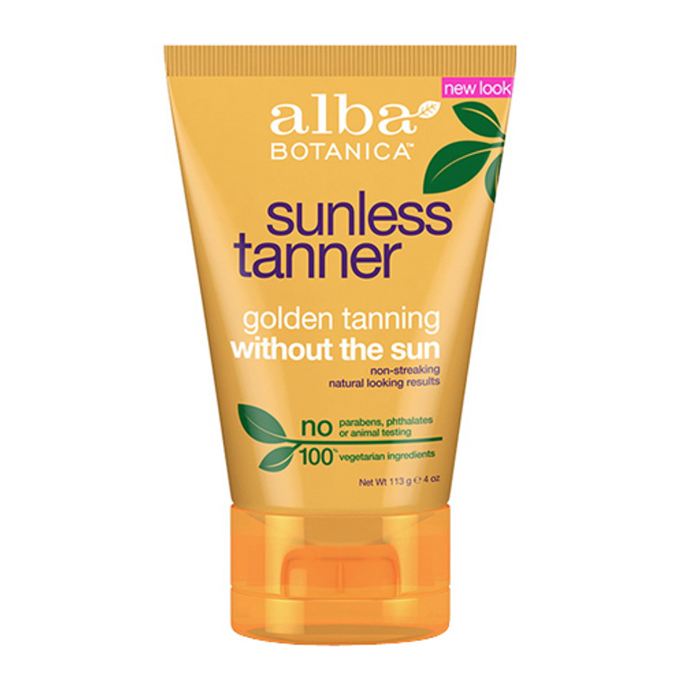 Alba Botanica Golden Tanning Without The Sun Lotion - 4 Oz