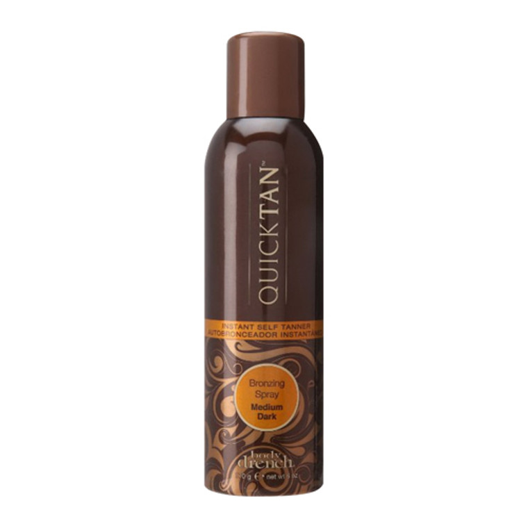 Body Drench Quick Tan Bronzing Spray, Medium Dark, 6 Oz