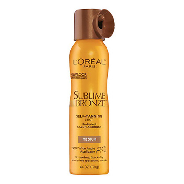 Loreal Paris Sublime Bronze Salon Perfect Airbrush Mist - 4.6 Oz