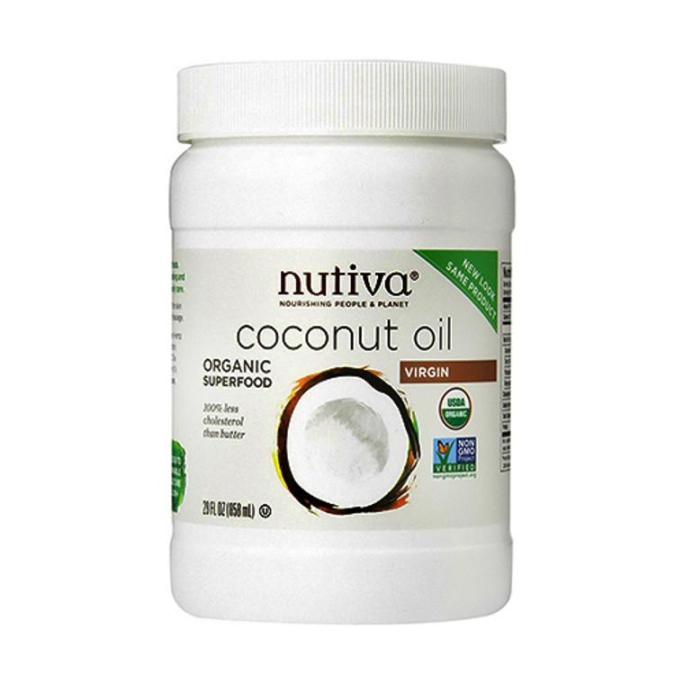 Nutiva Coconut Oil Organic, Virgin - 29 Oz