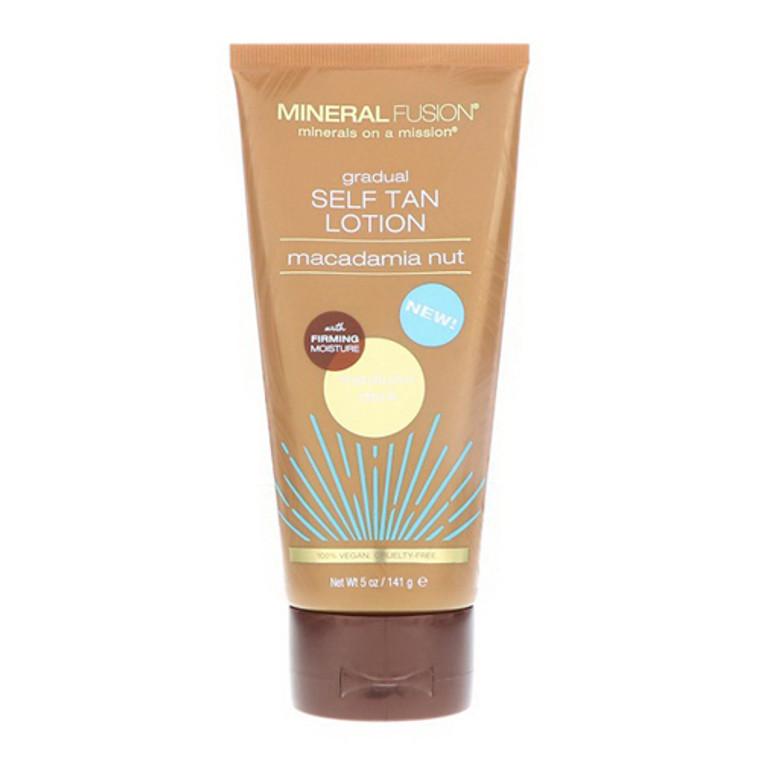 Macadamia Nut Gradual Self Tan Lotion Medium Dark By Mineral Fusion, 5 Oz