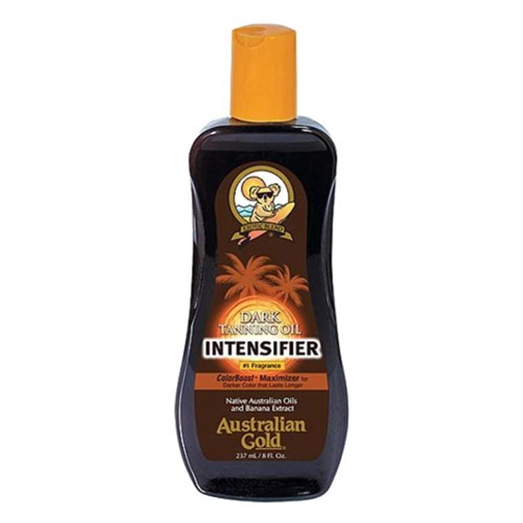 Australian Gold Intensifier Dark Tone Tanning Body Oil, 8 Oz
