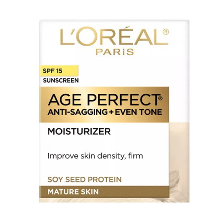 Loreal Age Perfect Anti Sagging And Ultra Hydrating Day Cream With Dermo Expertise Spf 15 - 2.5 Oz