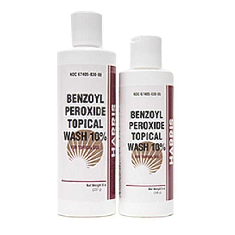 Benzoyl Peroxide Topical Wash 10 Percent - 8 Oz