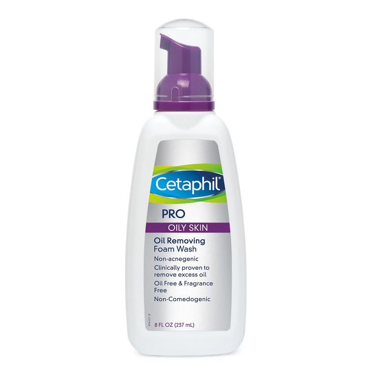 Cetaphil Derma Control Oil Control Foam Wash - 8 Oz