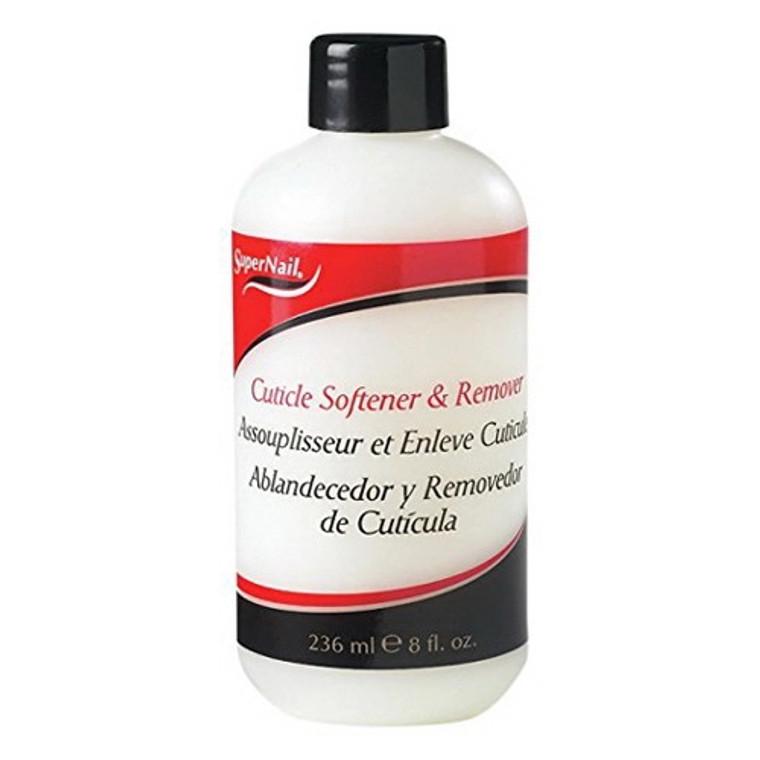 Super Nail Cuticle Softener And Remover, 8 oz