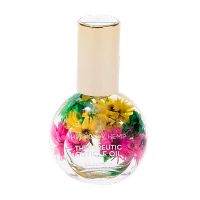 Blossom Heavenly Hemp Therapeutic Cuticle oil, Hibiscus, 1 Ea
