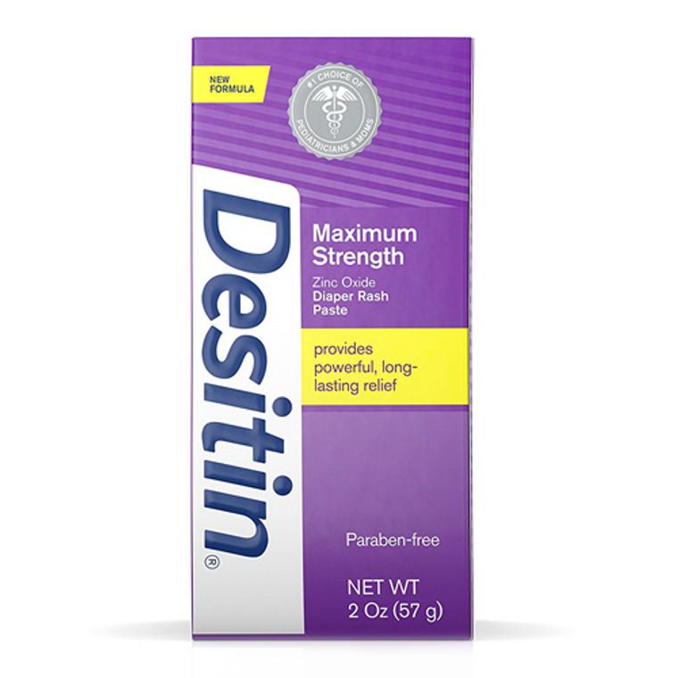 Desitin Maximum Strength Zinc Oxide Diaper Rash Paste - 2 Oz
