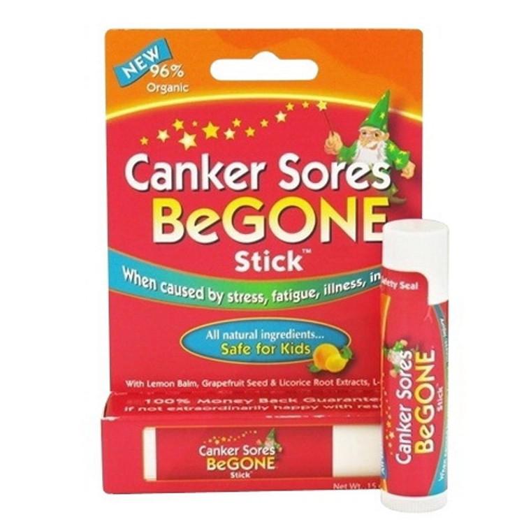 Canker Sore Begone Natural Ingredients Stick Safe For kids, 0.15 oz