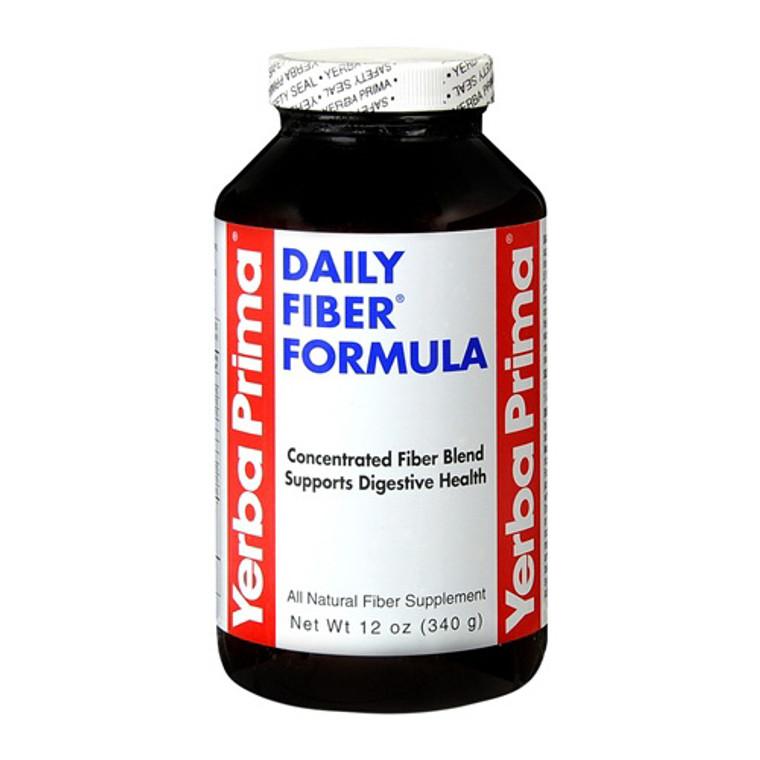 Yerba Prima Daily Fiber Formula Fiber Supplement Powder - 12 Oz