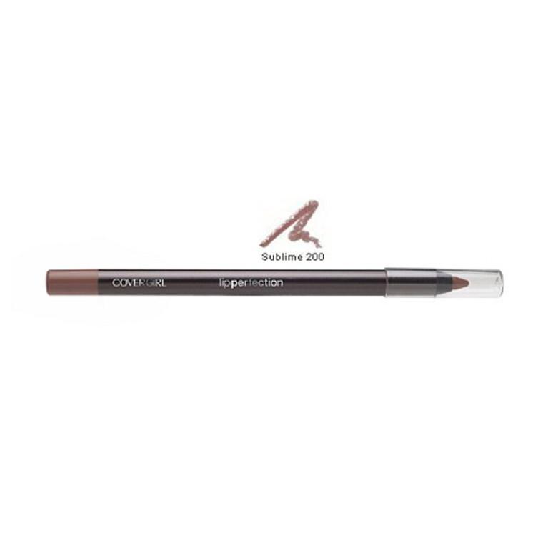 Covergirl Lip Perfection Liner Pencil 200, Sublime - 0.04 Oz, 2 Ea