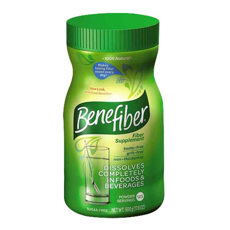 Benefiber Non-Thickening Powder Sugar-Free Powder, Unflavored - 17.6 oz, 125 servings