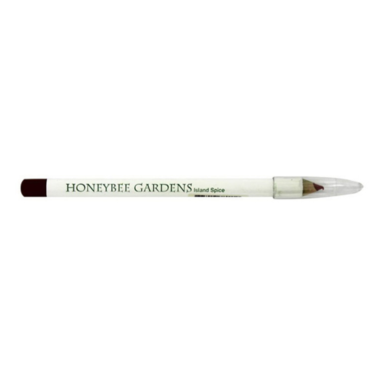 Honeybee Gardens Lip Liner Island Spice, Rosey Cinnamon Color, 0.04 Oz
