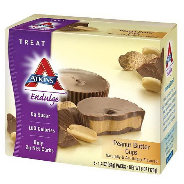 Atkins Advantage Peanut Butter Cups - 1.4 Oz, 5 / Pack