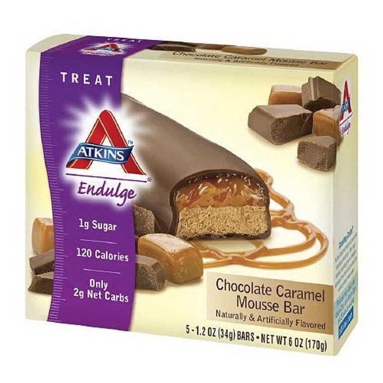Atkins Endulge Treat Chocolate Caramel Mousse Bar - 1.2 Oz, 5 / Pack
