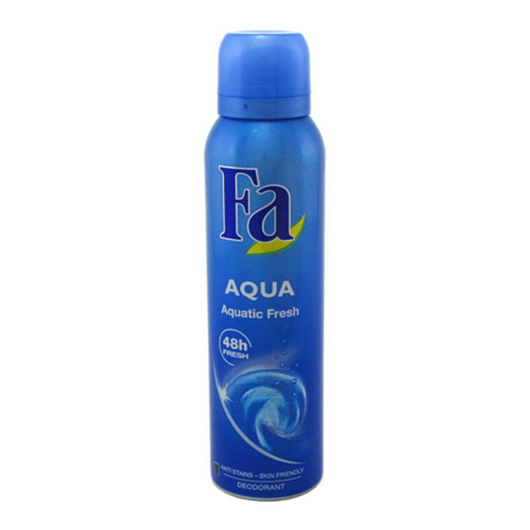 Fa Aqua Deodorant Spray, Aquatic Fresh, 5 Oz