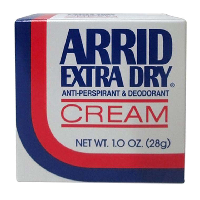 Arrid Extra Dry Antiperspirant And Deodorant Cream - 1 Oz