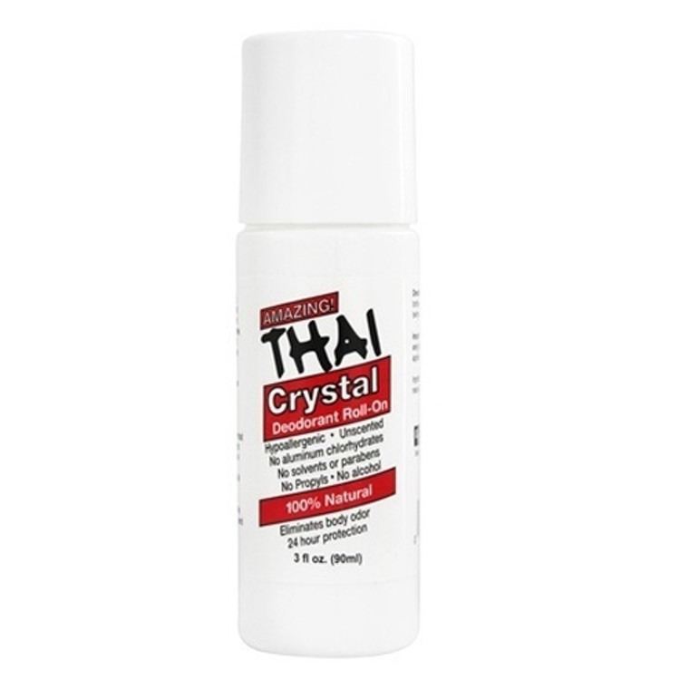 Thai Deodorant Stone Thai Crystal Mist Roll On Deodorant, 3 oz