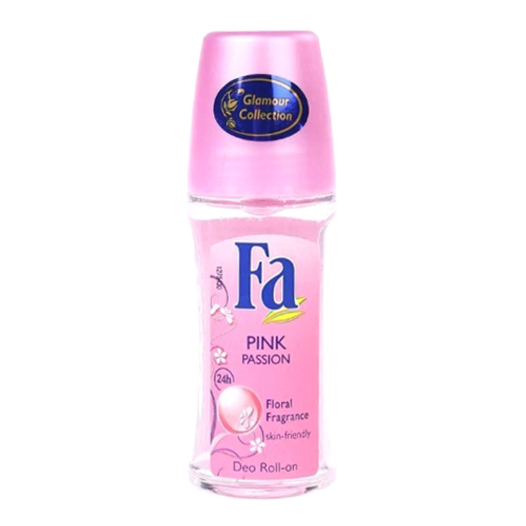 Fa Deodorant Roll On, Pink Passion, 1.7 Oz