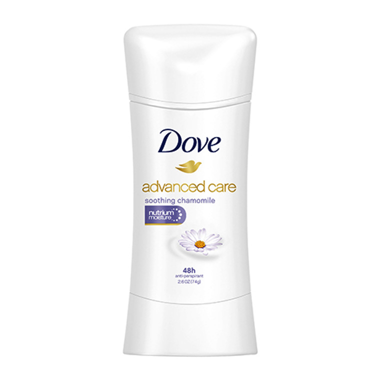Dove Advanced Care Antiperspirant, Soothing Chamomile, 2.6 Oz