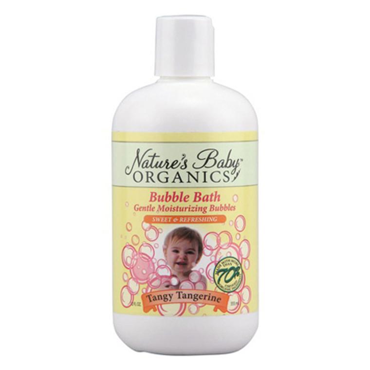 Nature'S Baby Organics Bubble Bath Gentle Moisturizing Bubbles, Tangy Tangerine, 12 Oz