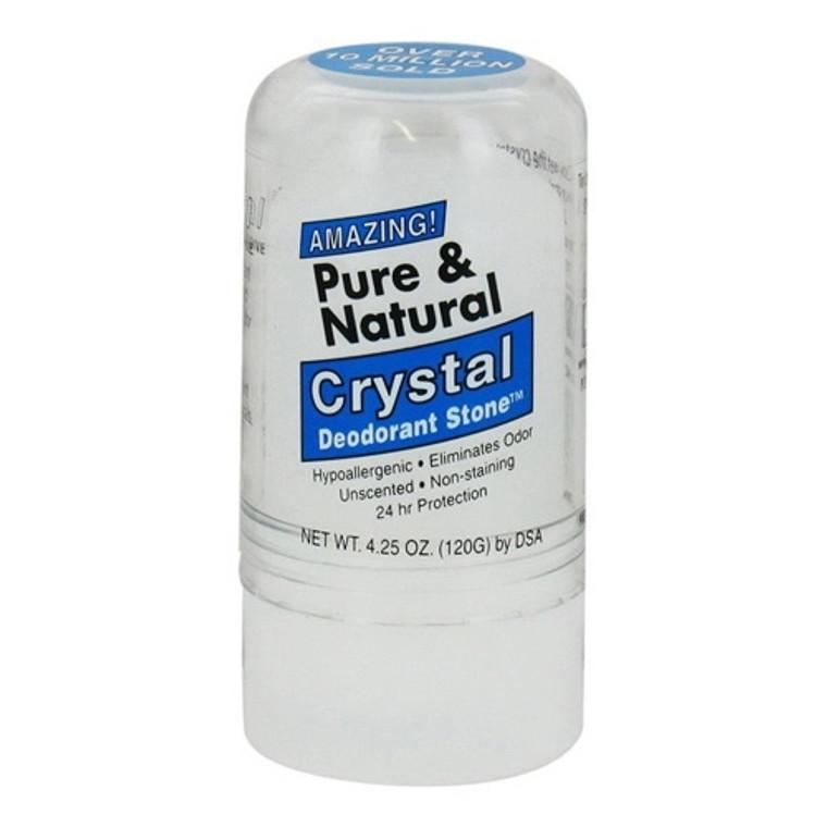 Thai Deodorant Stone Pure And Natural Crystal Deodorant Stone, 4.25 oz