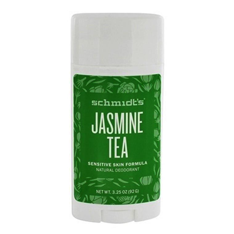 Schmidts Jasmine Tea Sensitive Skin Formula Natural Deodorant Stick, 3.25 Oz