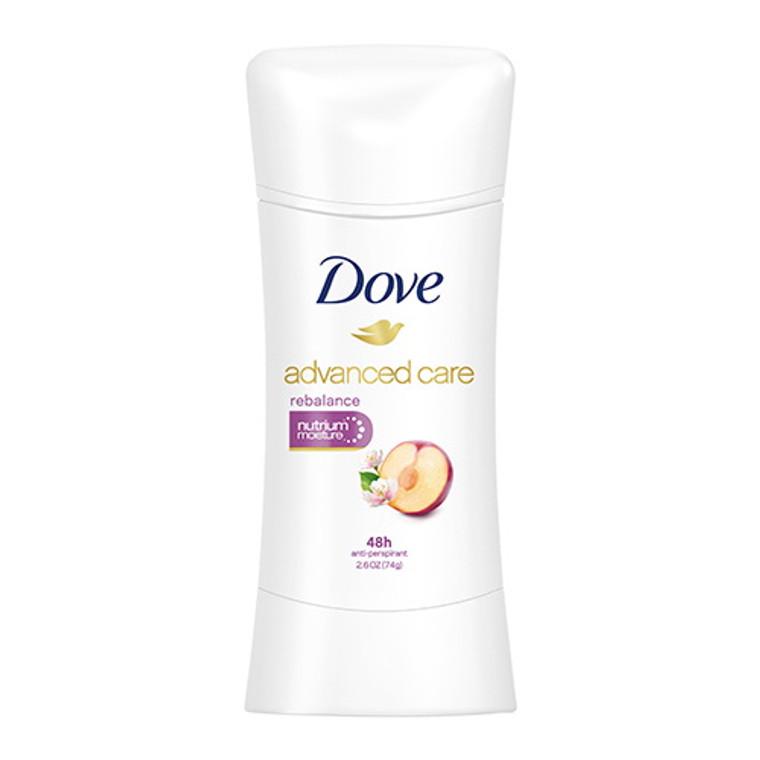 Dove Advanced Care Anti perspirant Deodorant, Rebalance, 2.6 Oz