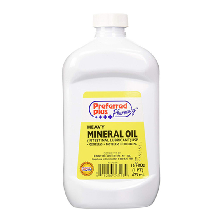 Mineral Oil Lubricant Laxative Relieves Constipation, Extra Heavy - 16 Oz