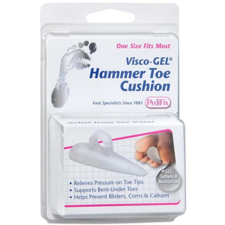 Pedifix Visco-Gel Hammer Toe Cushion, Supports Bent-Under Toes, 1 ea