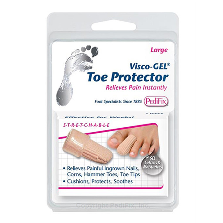 Pedifix Visco-Gel Toe Protector, Extra Large, 1 Pair