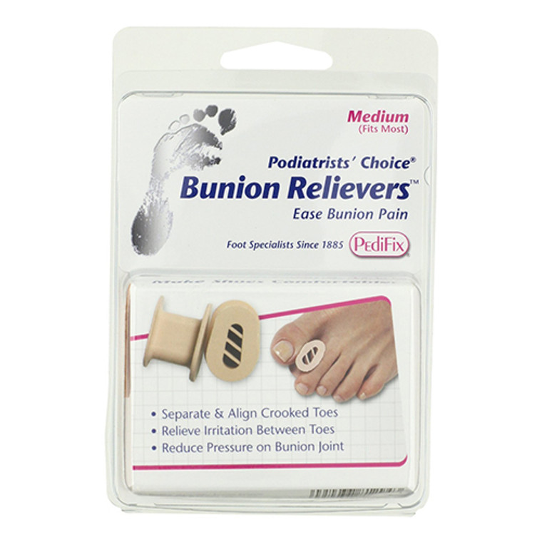 Pedifix Podiatrists Choice Bunion Relievers, Small, 2 ea