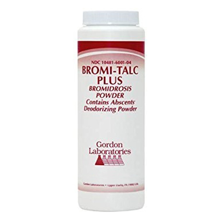Bromi-Talc Foot Powder For Hyperhidrosis - 3.5 Oz