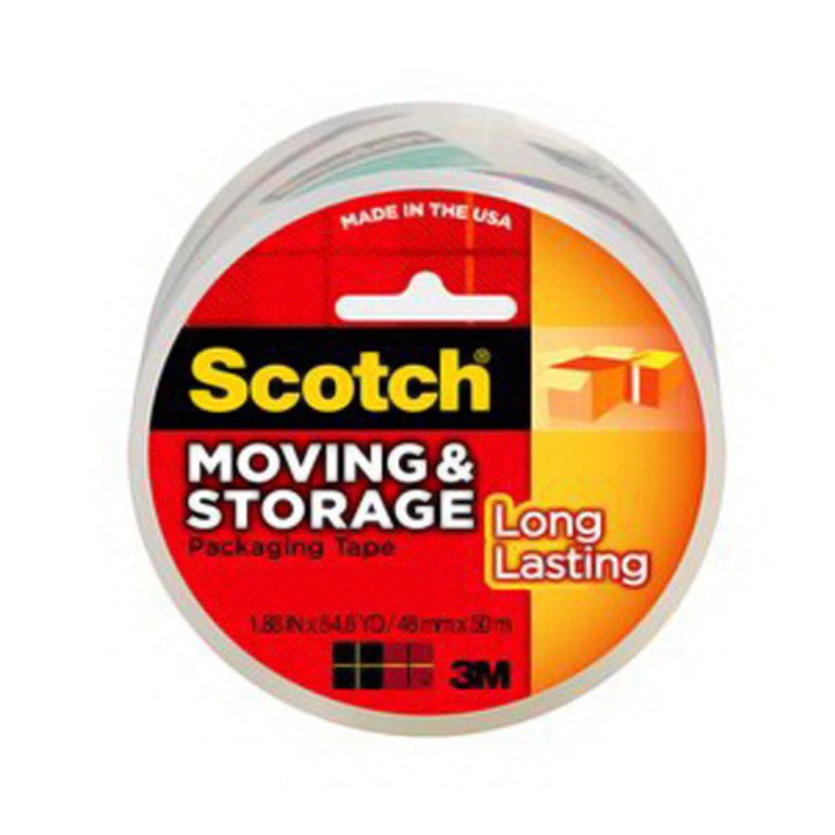 Scotch Long Lasting Moving And Storage Packaging Tape - 6 Ea