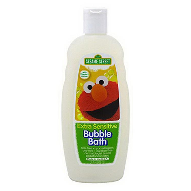 Sesame Street Bubble Bath, Extra Sensitive, 16 Oz
