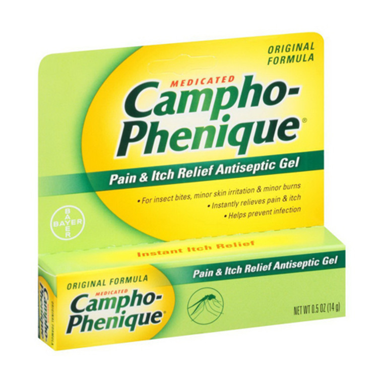 Campho-Phenique Pain and Itch Relief Antiseptic Gel, 0.5 Oz