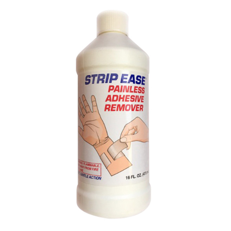 Strip Ease Adhesive Remover Liquid, 16 Oz