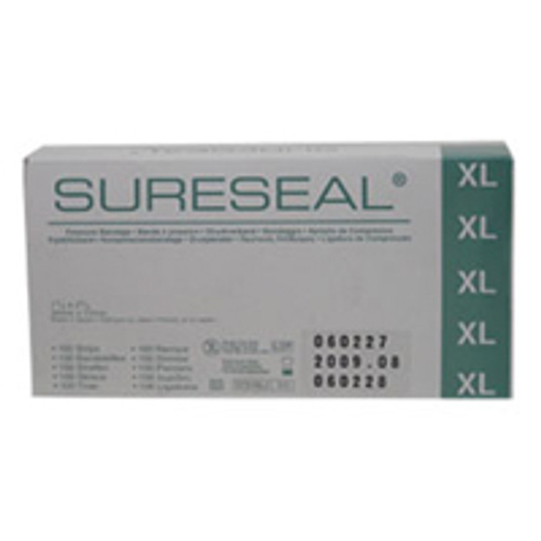 Sureseal Self Active Pressure Dressing, Xtra Large, 1/4 X 2 3/4 Inches - 100 Ea