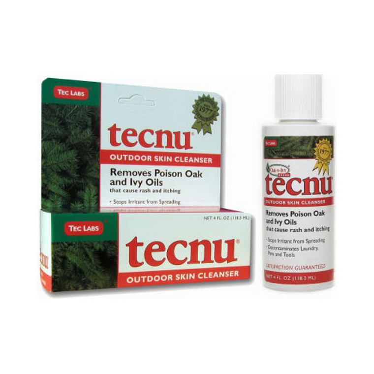 Outdoor Poison Oak And Ivy Skin Cleanser By Tecnu - 4 Oz