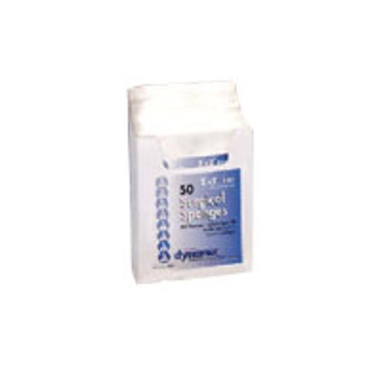 Standard Gauze Sponges Sterile - 2 In X 2 In - 8 Ply - 2S, 50 Ea