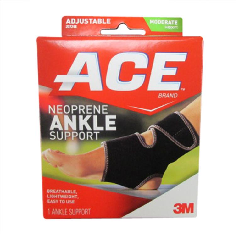 Ace Ankle Neoprene Brace, Universal, #7248 - 1 Ea