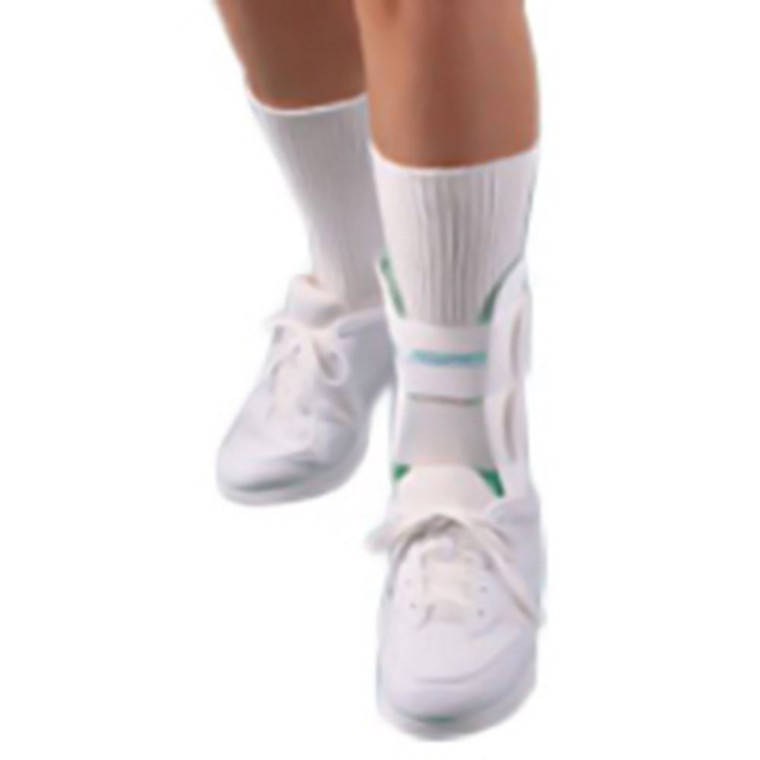 Aircast Ankle Brace For Right Leg, Standard, Large - 1 Ea