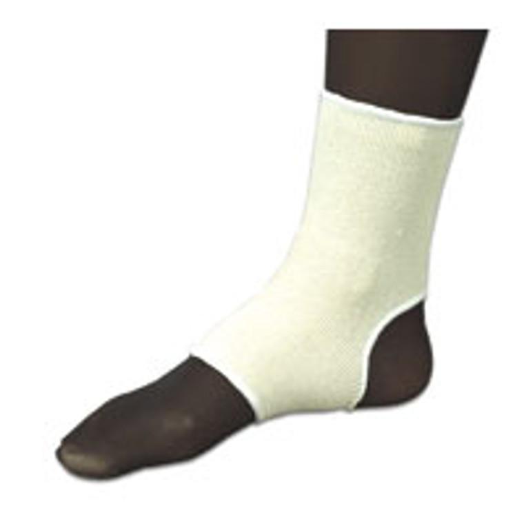 Sportaid Elastic Slip On Ankle Brace, Beige, Large Of Size: 9.25-10 Inch, #Sa1400Lg - 1 Ea