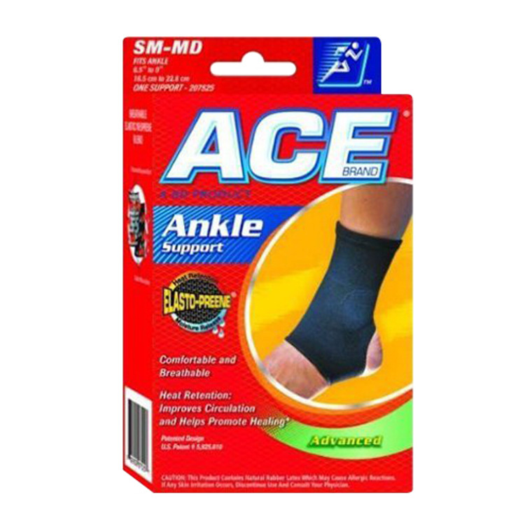 Ace Elasto-Preene Ankle Support For Large And X-Tra Large(Xl) Size, # 207526 - 1 Ea