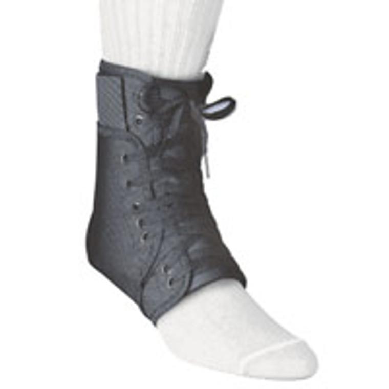 Swede-O Inner Lok 8 Lace Up Ankle Brace, Black, Small (Men : 6-7, Women : 7-9) - 1 Ea