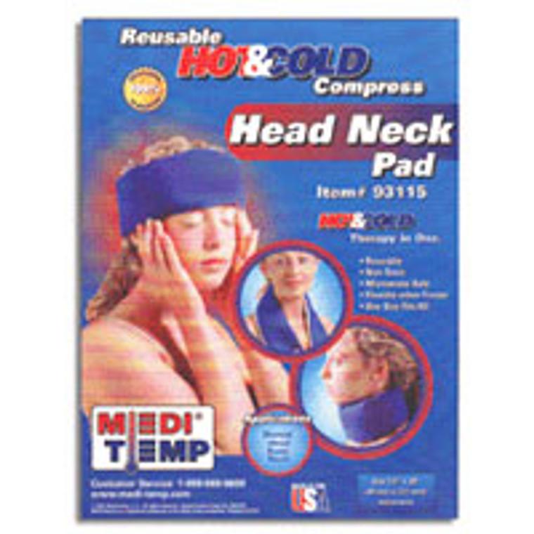 Medi Temp Hot And Cold Compress, Head And Neck - 1 Ea