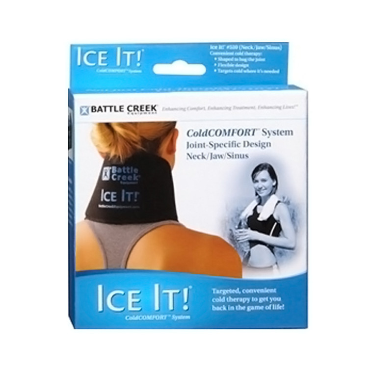 Battle Creek Ice It Cold Comfort Neck/Jaw/Sinus, 4.5 X 10 Inches, 1 Ea