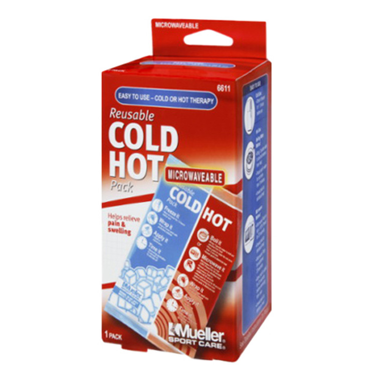 Mueller Sport Care Reusable One Size Cold-Hot Therapy Pack, Microwaveable, 1 Ea